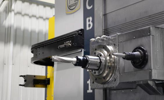 Horizontální frézovací a vyvrtávací stroj HCB 110 GD CNC
