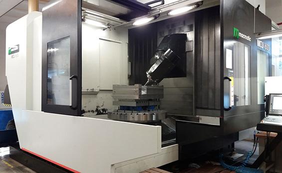 Vrtací a frézovací 5osé centrum MCU 1600 CNC